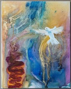 """Renewal""  Prophetic painting by Amanda OutsideTheBox,"
