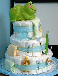 Diaper cake | Baby_Diaper_Cake_Boy_Side_View_1.jpg