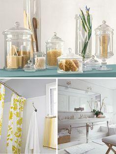 Spa Bathroom Decor small bathroom chic: tranquil spa-inspired accessories | small