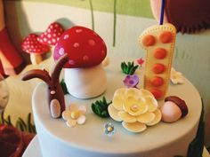 Cake at a Woodland Party