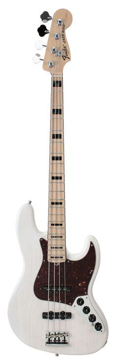 Fender American Deluxe Jazz Bass White Blonde