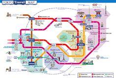 J A P A N วางแผนเที่ยวตามผังขบวนรถไฟใต้ดินในโตเกียว - Pantip