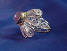 Rosette II, Ring by Victoria Lansford