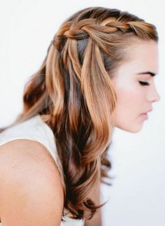 side braid with waves | Hair and Beauty Tutorials, Go To www ...