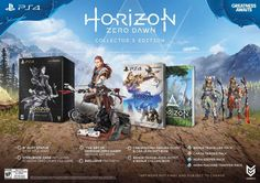Horizon: Zero Dawn Collector's Edition Pre-Order For PlayStation 4 (Physical Disc)