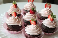 This Strawberry Dream Frosting made from butter and marshmallow creme is to die for!