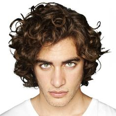 men's curly hair | men with curly hair How to Style Curly Mens Hair