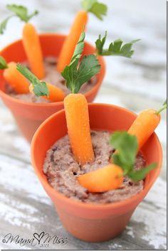 Edible Mini Carrot Garden