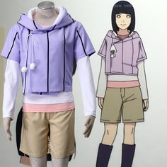 Anime Naruto Hyuga Hinata 6TH Cosplay Costume
