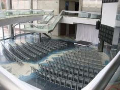 One version of ceremony seating by Cable Center Events, Denver, Colorado.