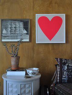 Banquet Atelier & Workshop — Fluoro Heart Print
