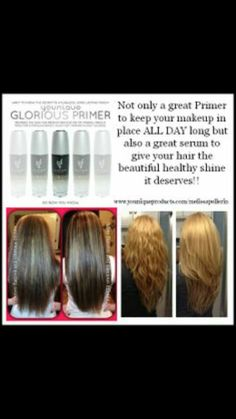 Glorious Primer not just face and eyes but also gives your hair with shine and beautiful glow! Visit at https://www.youniqueproducts.com/MyBeautifulStyle