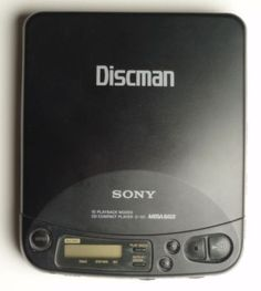 Discman. (more like 90's I realize).. Had this exact model!!!