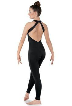 V-Neck Backless Dance Unitard | Balera™