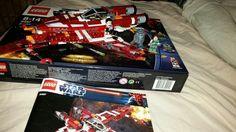 Republic Striker-class Starfighter Lego, Legos
