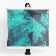 'Blue Please' Scarf by Beer-Bones Scarf Design, Bones, My Arts, Art Prints, Printed, Awesome, Artist, Products, Art Impressions