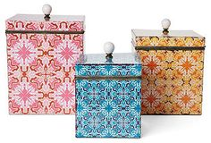 Decorative Accents: Indoor Accents: Trays & Boxes - One Kings Lane