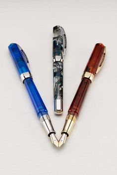 Visconti Opera Demo Dolma Kalem / Fountain Pen http://alwaysfashion.com/tr/p/1264/opera-demo-mavi-dolma-kalem