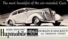 Hupmobile Aerodynamic