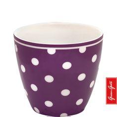 Greengate latte cup Naomi plum