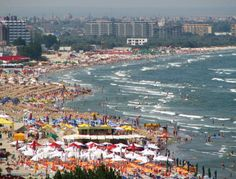 The Black Sea in Constanta, Romania Places Around The World, Around The Worlds, Constanta Romania, Visit Romania, Thing 1, Best Resorts, Tourist Places, Black Sea, Eastern Europe