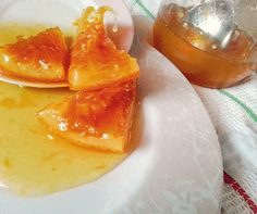 Homemade Sweets, Marmalade, Panna Cotta, Food And Drink, Pudding, Fruit, Cooking, Ethnic Recipes, Desserts