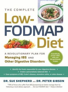 Dr Sue Shepard has been the FODMAP pioneer.  Her work is vital reading