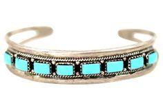 Navajo Stacking Turquoise Bracelet