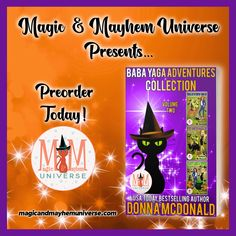 The Baba Yaga Adventures Collection by Donna McDonald is available for preorder! #MagicMayhemUniverse#PNR#preorder#comingsoon#ebooks#magicaltales