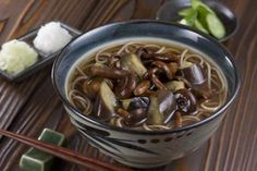 Deep Nourishment: Soba Noodles with Mushroom Broth