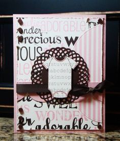 Precious Baby Girl by monkeymama - Cards and Paper Crafts at Splitcoaststampers