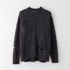 Rohan Oversized Holey Sweater by ETOILE ISABEL MARANT