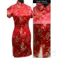 3699d98b08f5e Special Offer Navy Blue Chinese Womens Mini Cheongsam Qipao Dress ropa  mujer Dragon Phenix Size M L