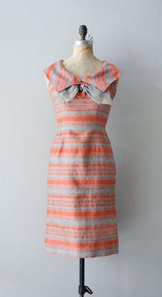 1950's Court & Spark silk dress