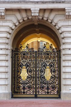 Gate and Door | Buckingham Palace Entrance | ...and beyond(?).