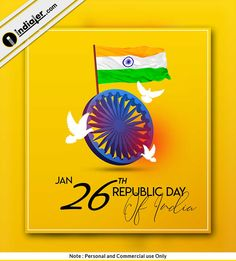 Republic Day Photos, Republic Day Indian, Happy Republic Day Wallpaper, Indian Flag Wallpaper, Happy Independence Day India, Phone Wallpaper Pink, India Poster, Social Media Poster, Graphic Design Flyer