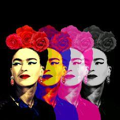 Arte FRIDAS BLACK Artista Ana Paula Hoppe