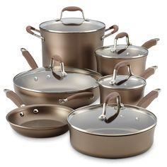 Anolon Advanced Umber 11-Piece Cookware Set