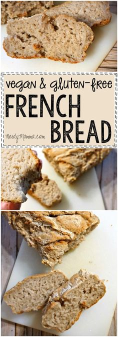 Mmmm...vegan AND gluten-free french bread Awesome. Just Awesome.