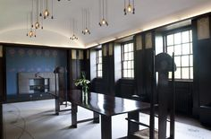 Charles Rennie MacIntosh - House for an Art Lover, dining room