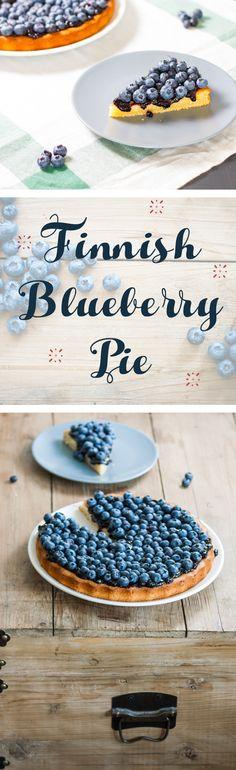 The Best Finnish Blueberry Pie | #omg | Mustikkapiirakka | www.haveanotherbite.com | #recipe #nomnom