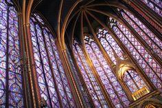 La Sainte-Chapelle Paris at sunset | Just Some Girl in France