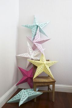 star lanterns - drifter and the gypsy blog
