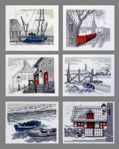 Gallery.ru / Лодки-велики - мои вышивки - NataVosk
