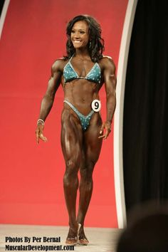 Tanji Johnson -- you looked so good at the Olympia '13!  Glad you placed in the top 3!