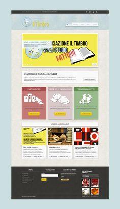 Associazione culturale Il Timbro #website #web #webdesign #webdevelopment #layout #responsive #html #seo #mrapps