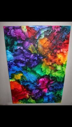 how to make art with melted crayons