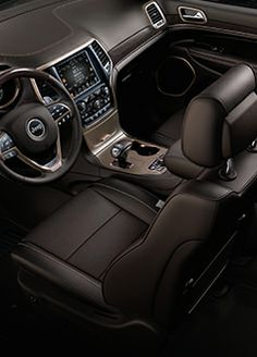 2014 Jeep Grand Cherokee interior #Jeep #Cherokee #Rvinyl =========================== http://www.rvinyl.com/Jeep-Accessories.html