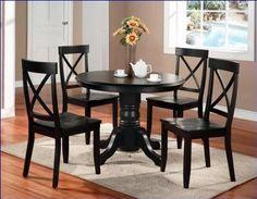 Black Round Kitchen Tables