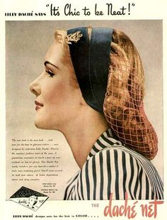 Lilly Dache hair net